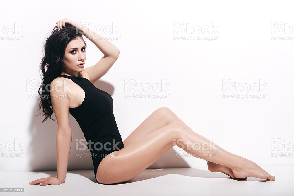 Fit and beautiful. stock photo