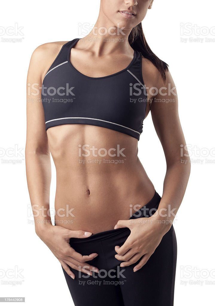 Fit and Sensual royalty-free stock photo