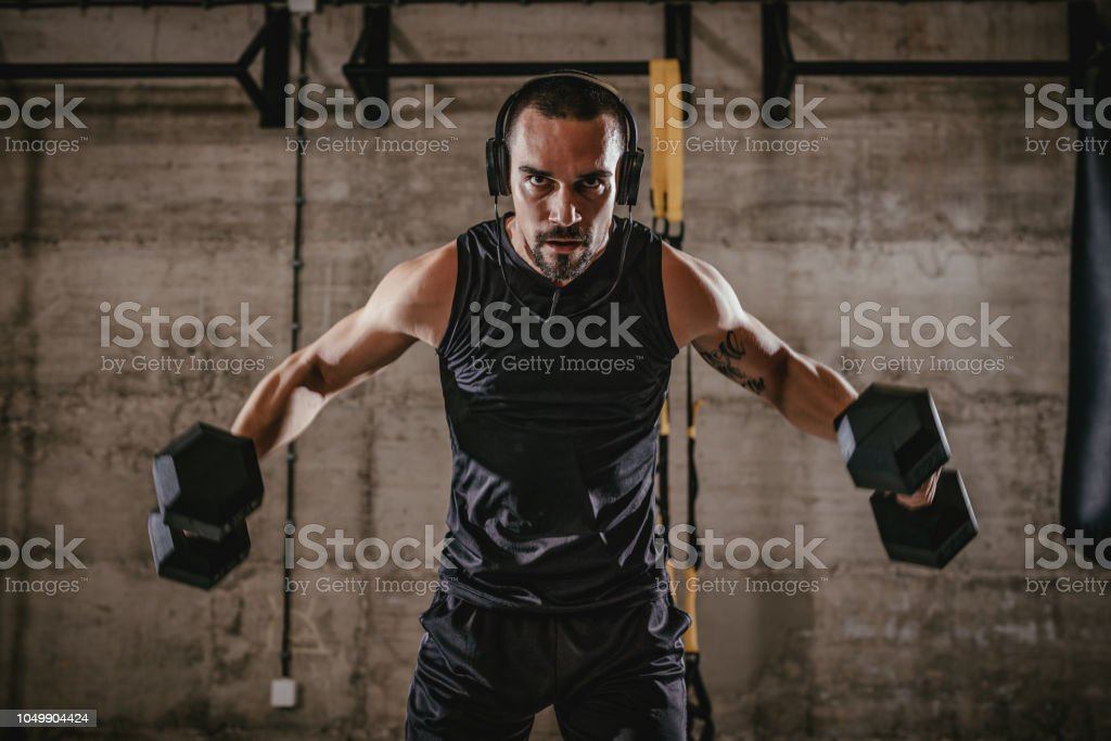 Fit And Strong stock photo