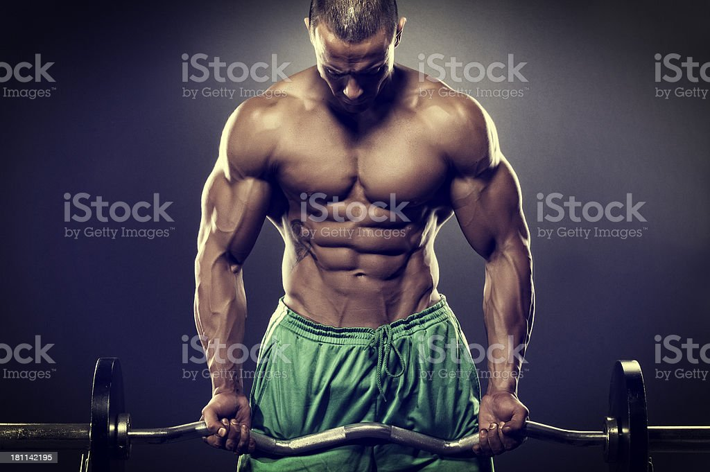 Fit and Strong royalty-free stock photo