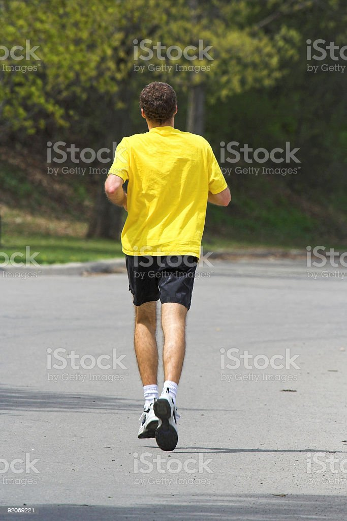 Fit, Atheltic Man stock photo