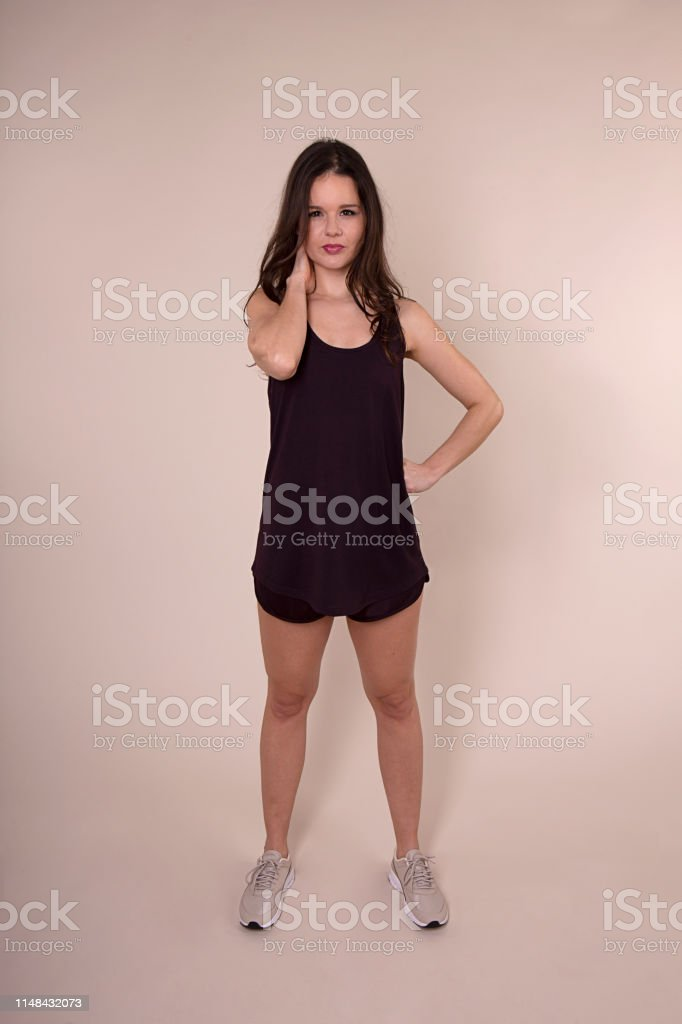 Fit Attractive Women Posing With Workout Clothes In Studio Stock Photo Download Image Now Istock Titles should be in good taste and include the woman's name if known. fit attractive women posing with workout clothes in studio stock photo download image now istock