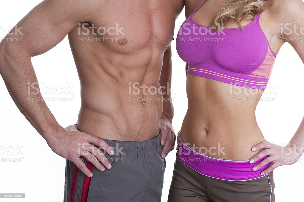 fit bodies royalty-free stock photo