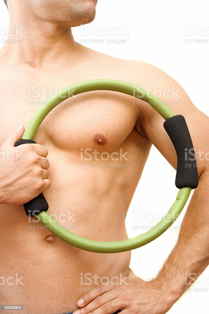 Fit body royalty-free stock photo