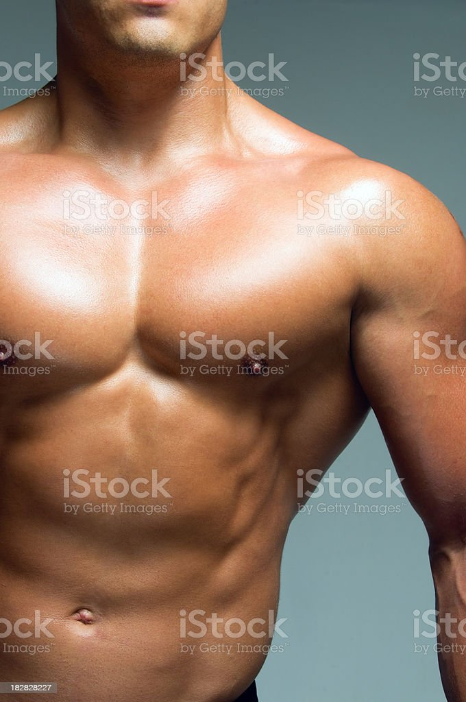 Fit guy royalty-free stock photo