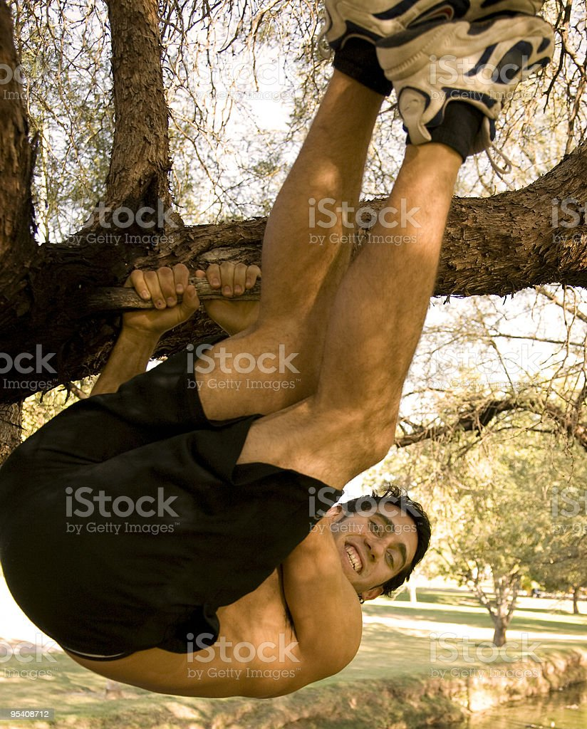 Fit male model royalty-free stock photo