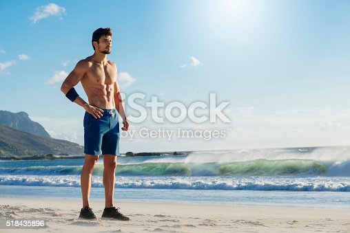 519676858istockphoto fit man taking a break from working out 518435896