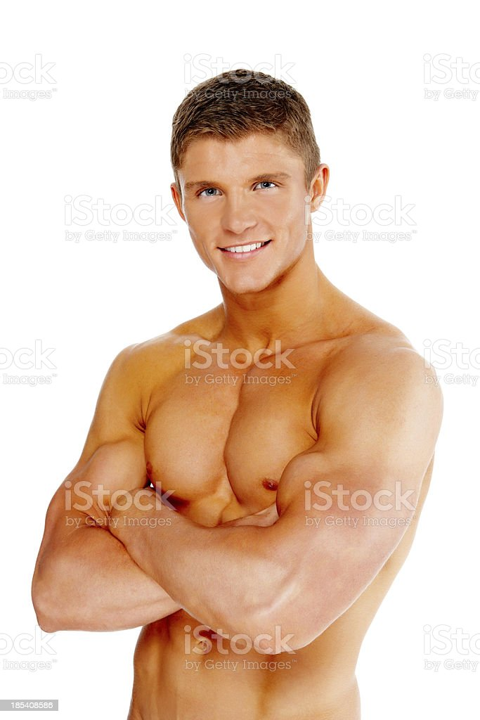 Fit Young Man royalty-free stock photo