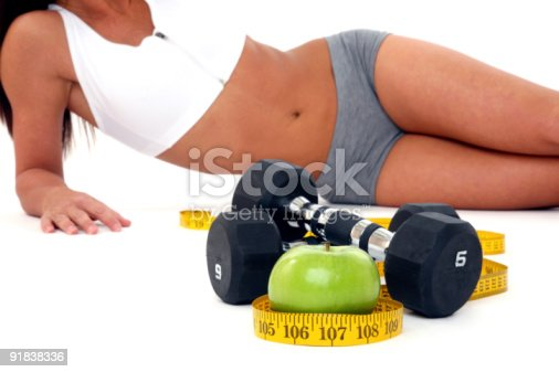 istock Fit young woman 91838336