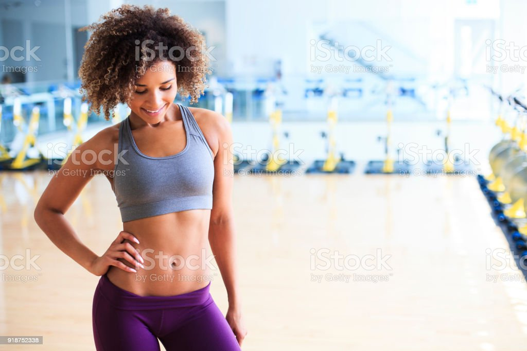 Fit Young Woman stock photo