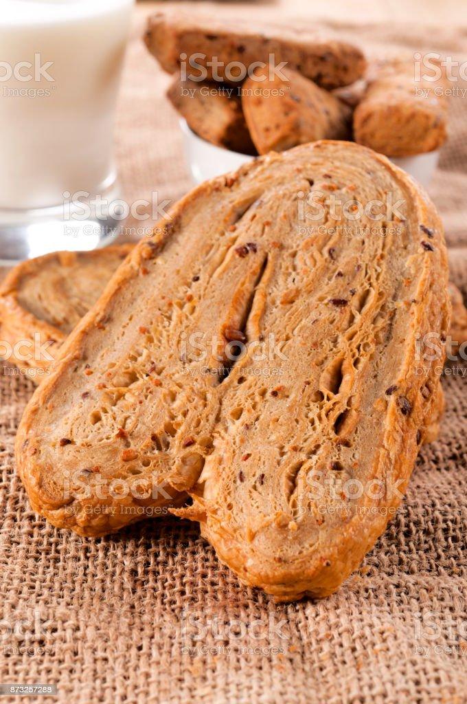 Fitnes pastry stock photo