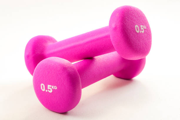 Fitness activity and the health benefits of exercising concep - foto stock