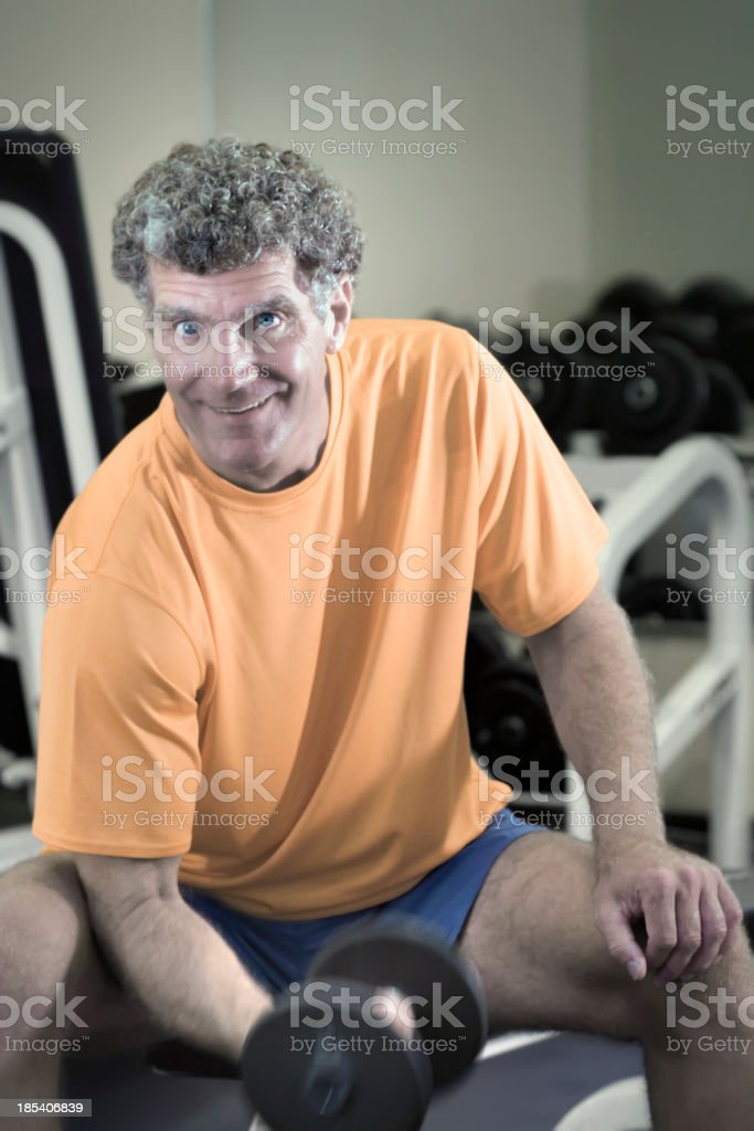 Fitness after Fifty royalty-free stock photo