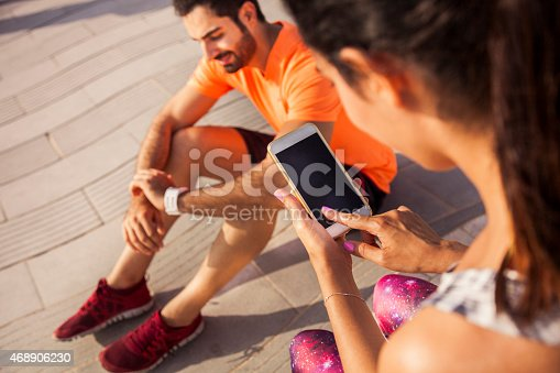 istock Fitness and exercising in Dubai - Sporty People 468906230