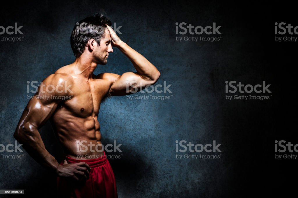 Fitness and Health royalty-free stock photo