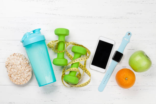 Fitness und gesunde Ernährung – Foto