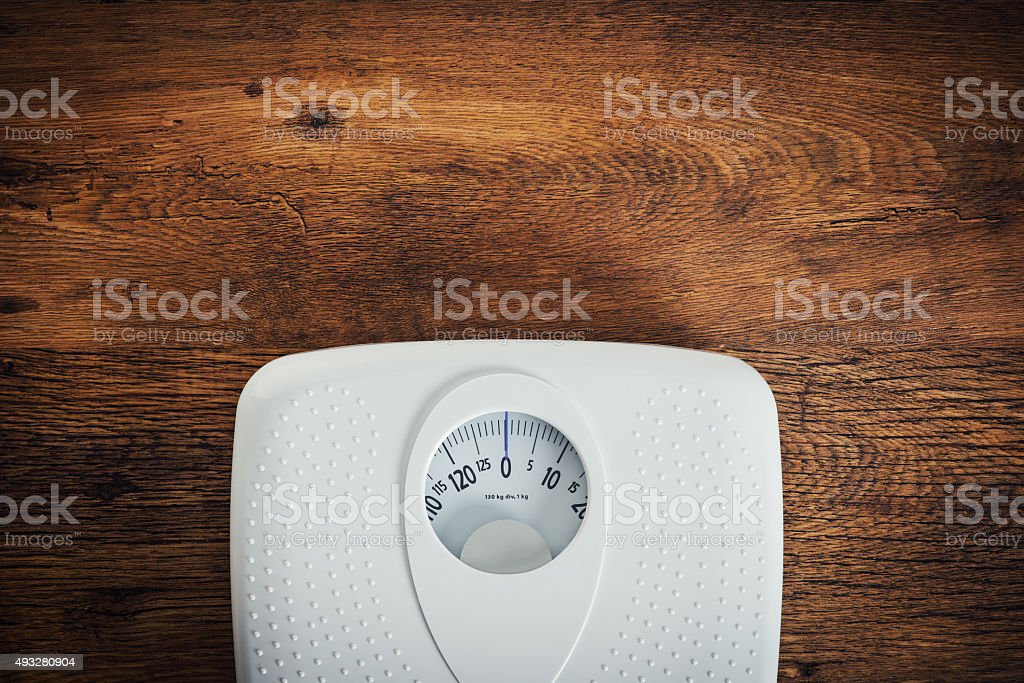 Fitness and weight loss concept stock photo