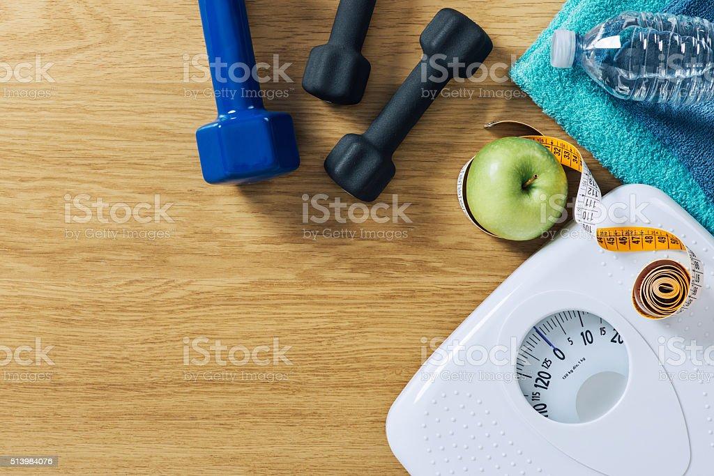 Condicionamento físico e na perda de peso - foto de acervo