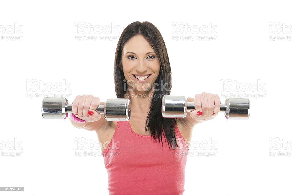 Fitness athlete royalty-free stock photo