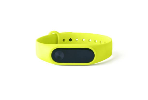 fitness bracelet or tracker - браслет стоковые фото и изображения