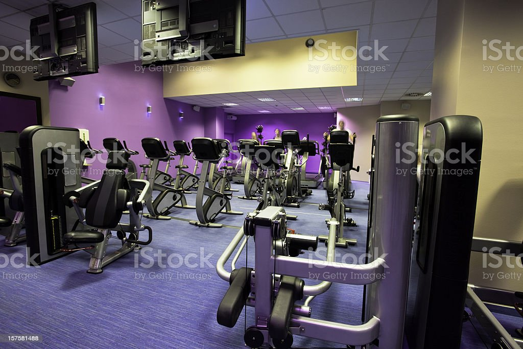 Fitness center royalty-free stock photo