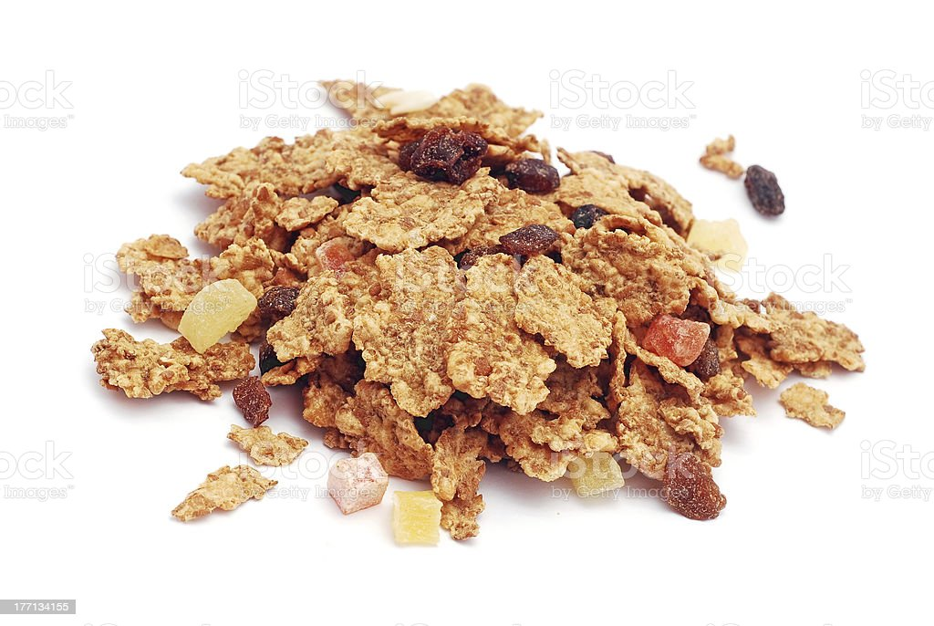fitness cereals royalty-free stock photo