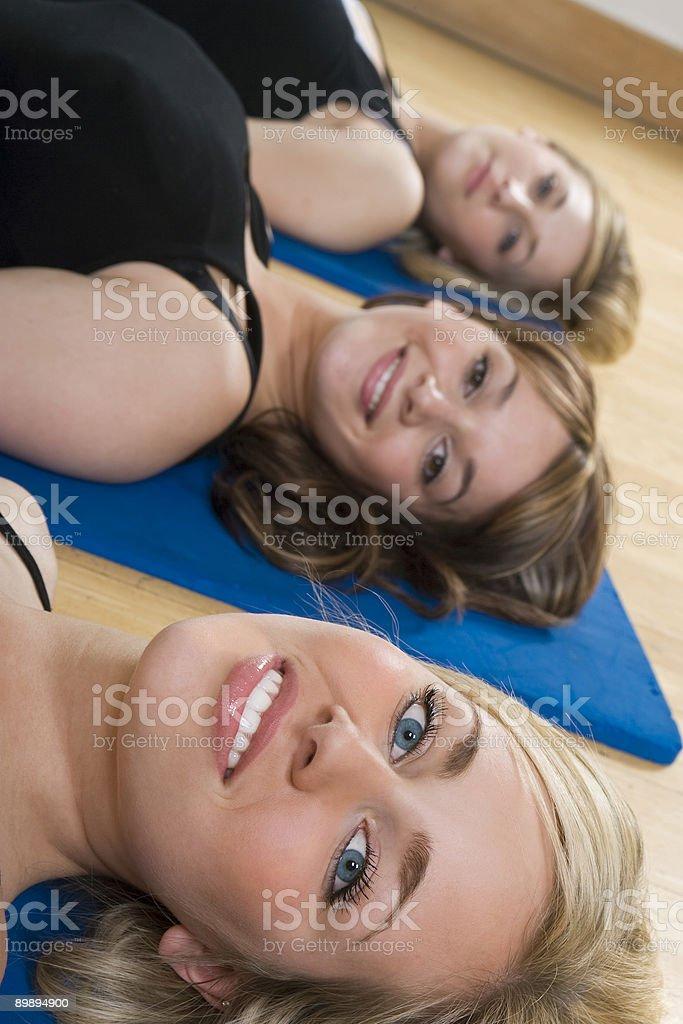 Фитнес-класс Стоковые фото Стоковая фотография