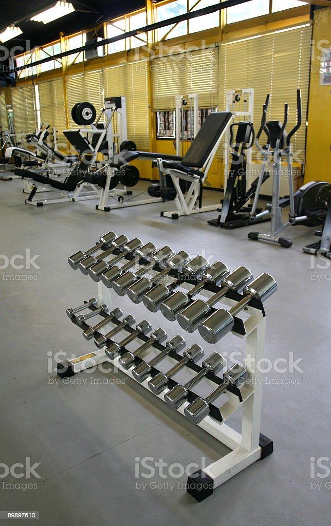 Fitness-club Lizenzfreies stock-foto
