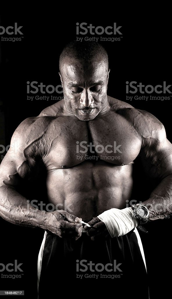 Fitness Coach royalty-free stock photo
