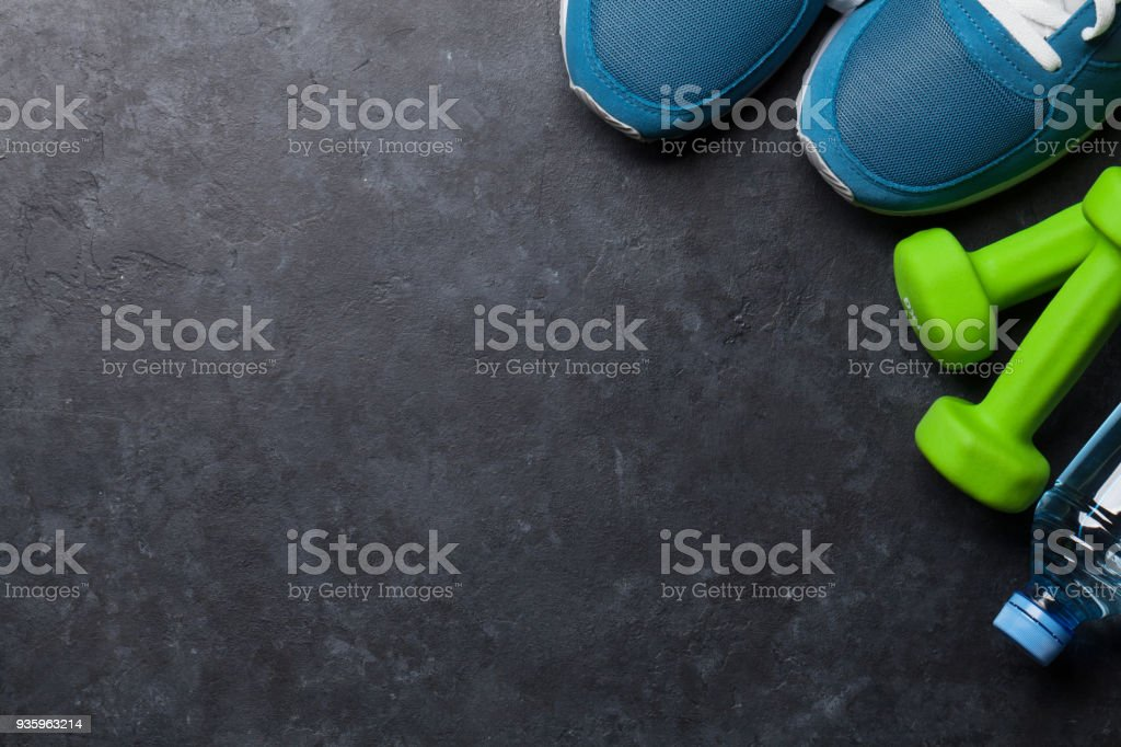 Fitness concept background stock photo