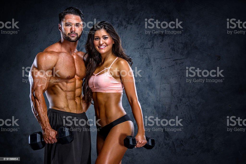 Couple de remise en forme - Photo