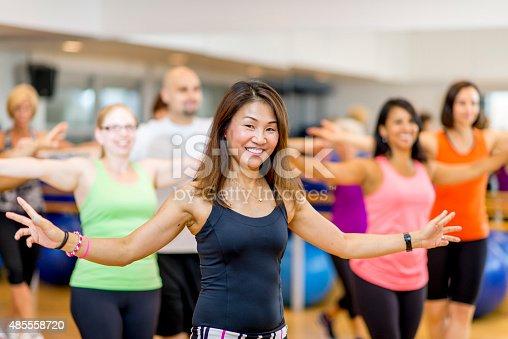 istock Fitness Dance Class 485558720