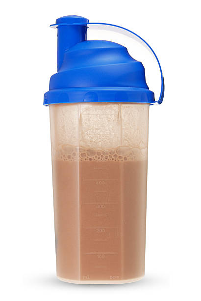 fitness drink fitness drink on white protein stock pictures, royalty-free photos & images