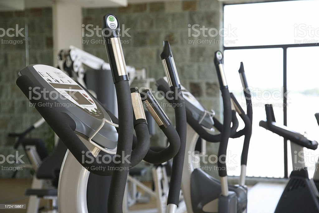 Fitness Equipment royalty-free stock photo