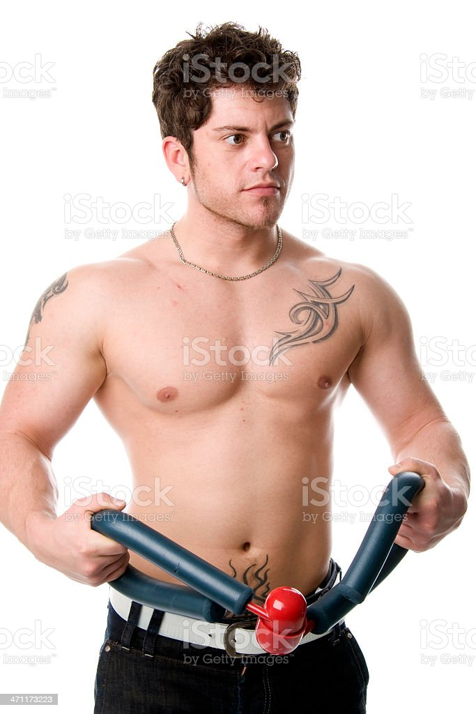 Fitness exercise royalty-free stock photo