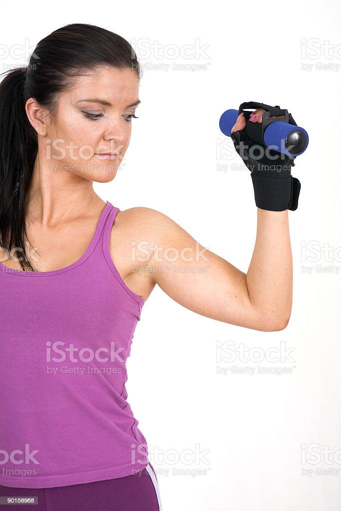 Fitness female stock photo