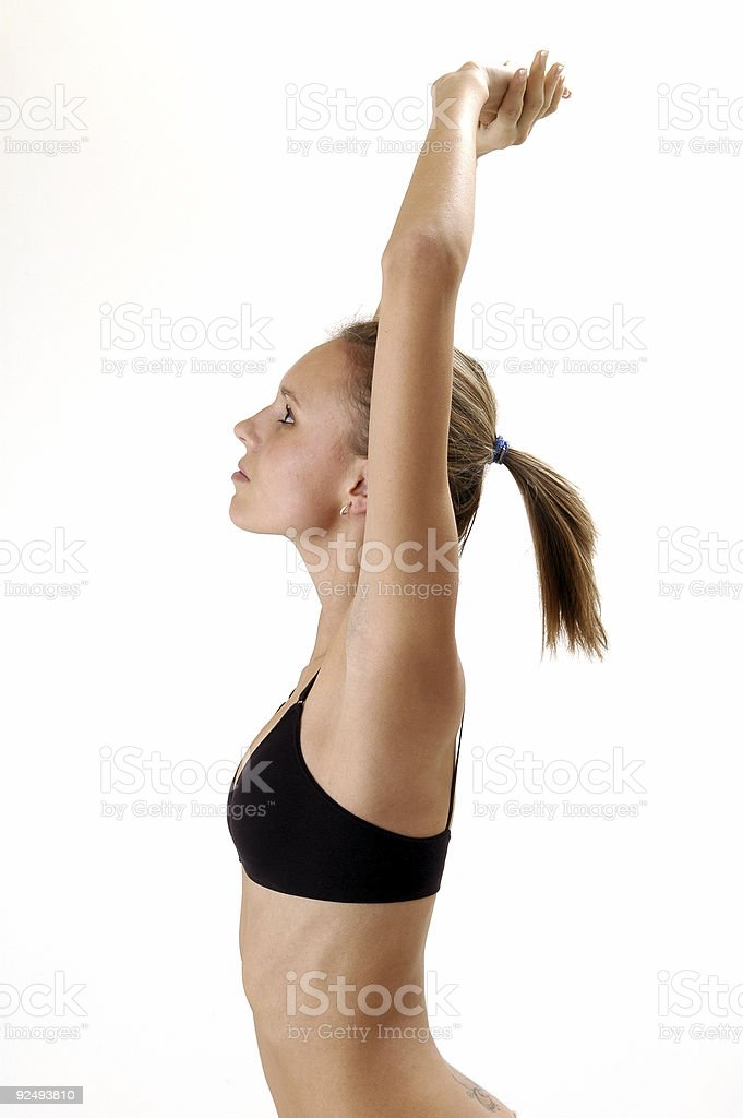 Fitness Female royalty-free stock photo