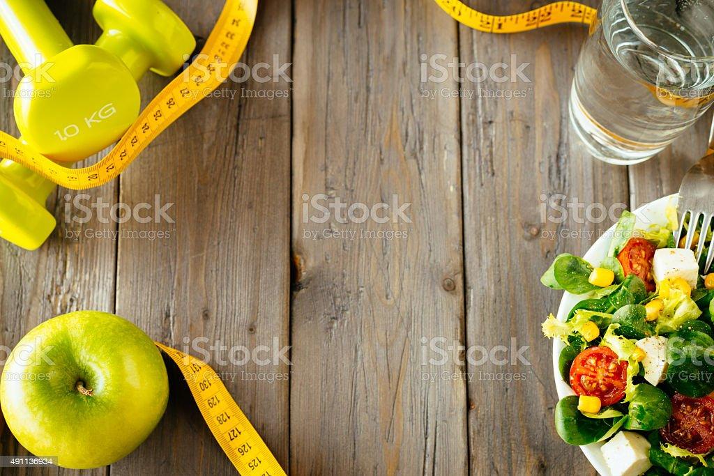 Fitness Speisen und healhty Essen Konzept – Foto