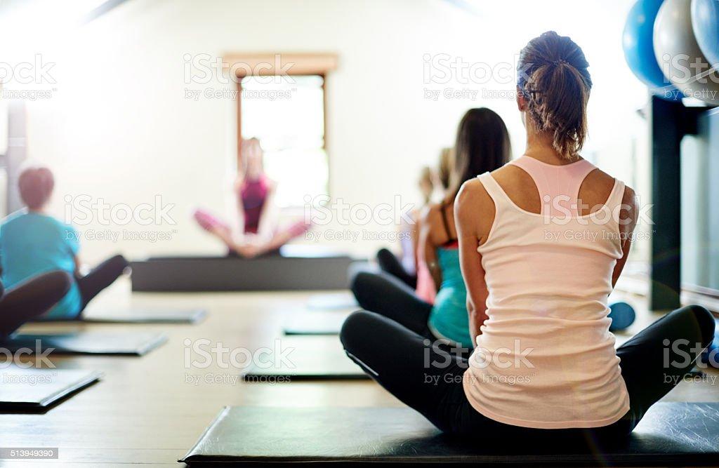 Eignung für Geist und Körper mit Pilates – Foto