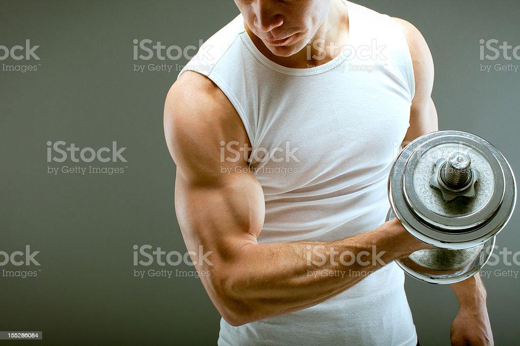 Fitness guy royalty-free stock photo
