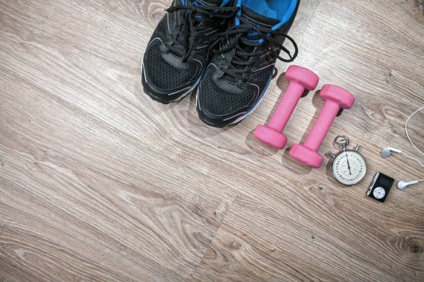 Fitness gym and running equipment. – zdjęcie