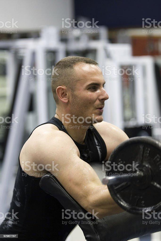 fitness gym training royalty-free stock photo