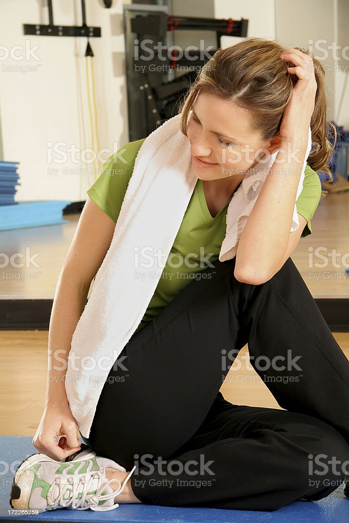 Fitness Happiness royalty-free stock photo