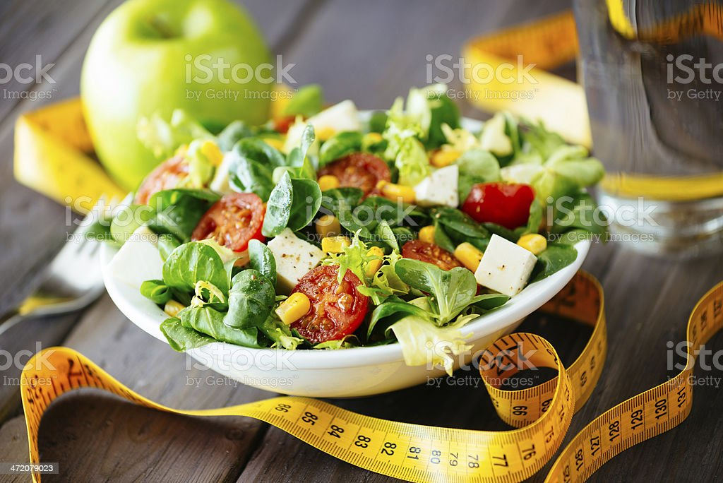 Fitness gesunde Salat – Foto