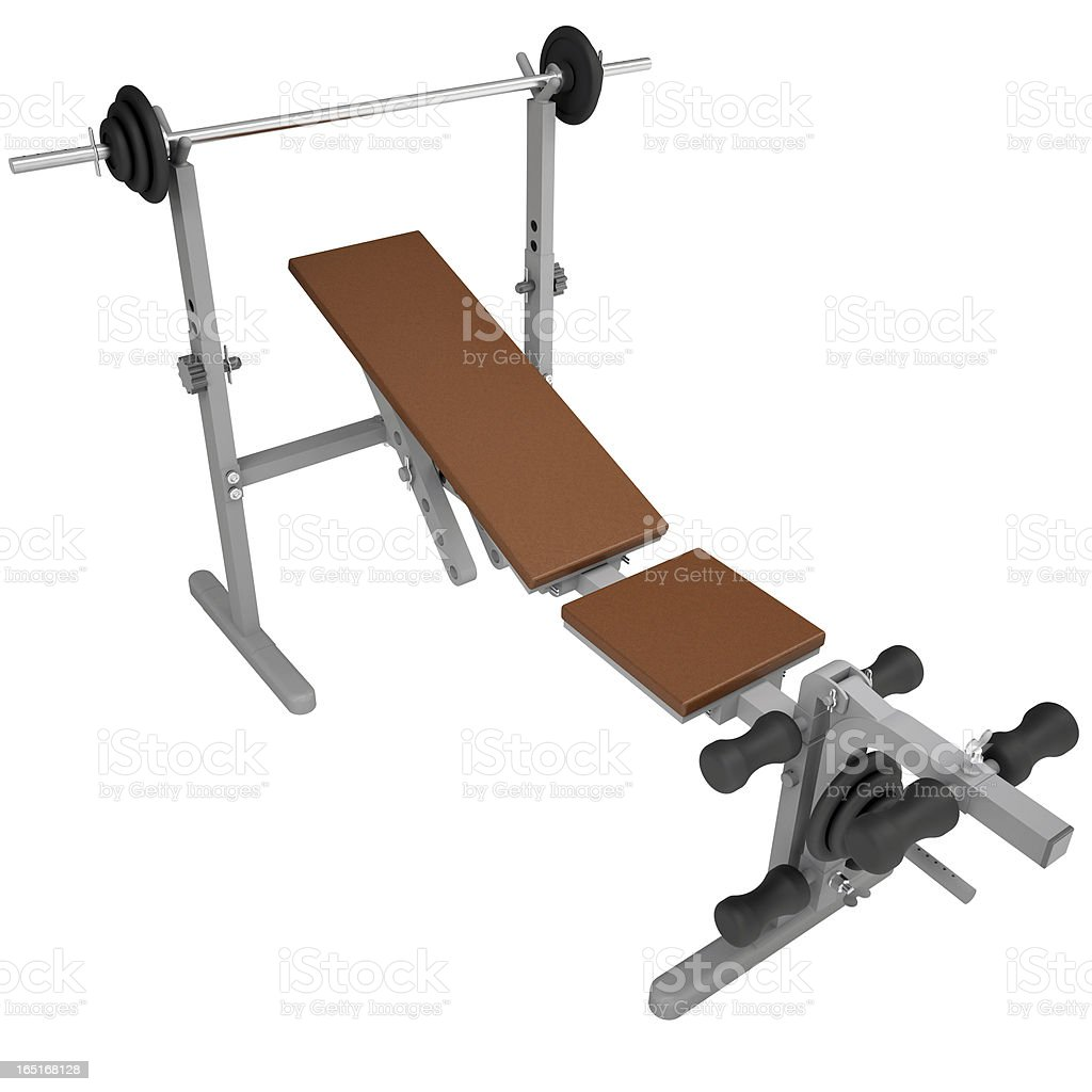 Fitness home gym royalty-free stock photo