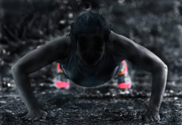 Fitness Intensity stock photo