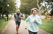 istock Fitness is an important part of their marriage 916125398