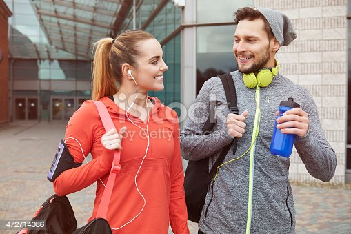 istock Fitness lifestyle of young couple 472714086