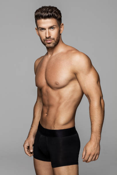Top 60 Black Male Underwear Models Stock Photos, Pictures, And Images - Istock-8941