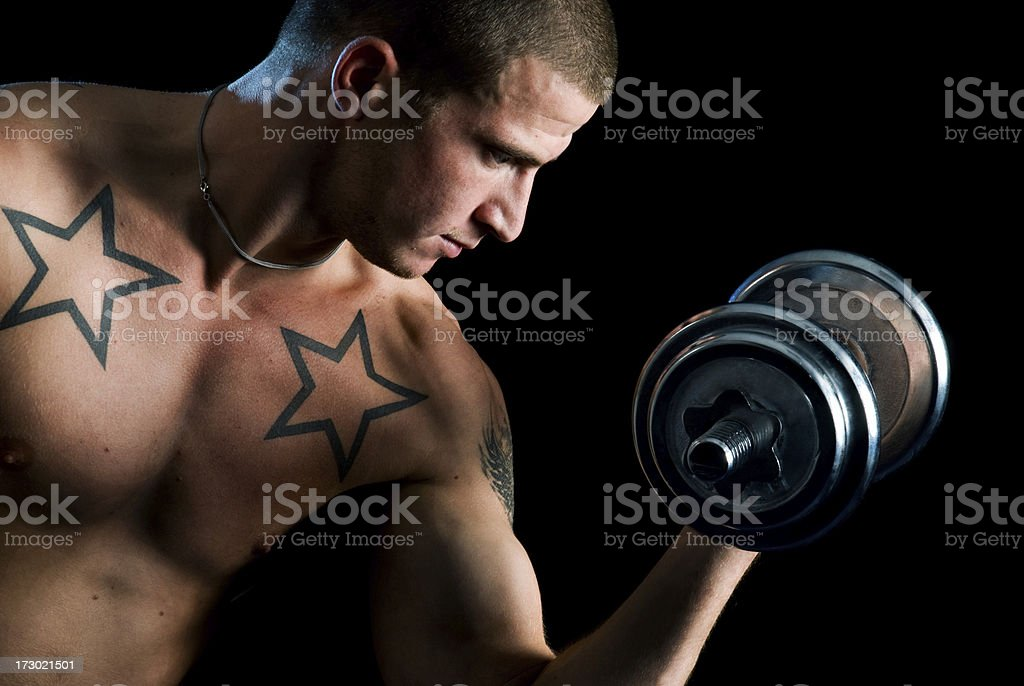 Fitness male royalty-free stock photo